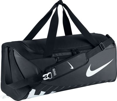 Nike Alpha Adapt Crossbody Duffel - Large Black/Black/White - Nike Gym Duffels