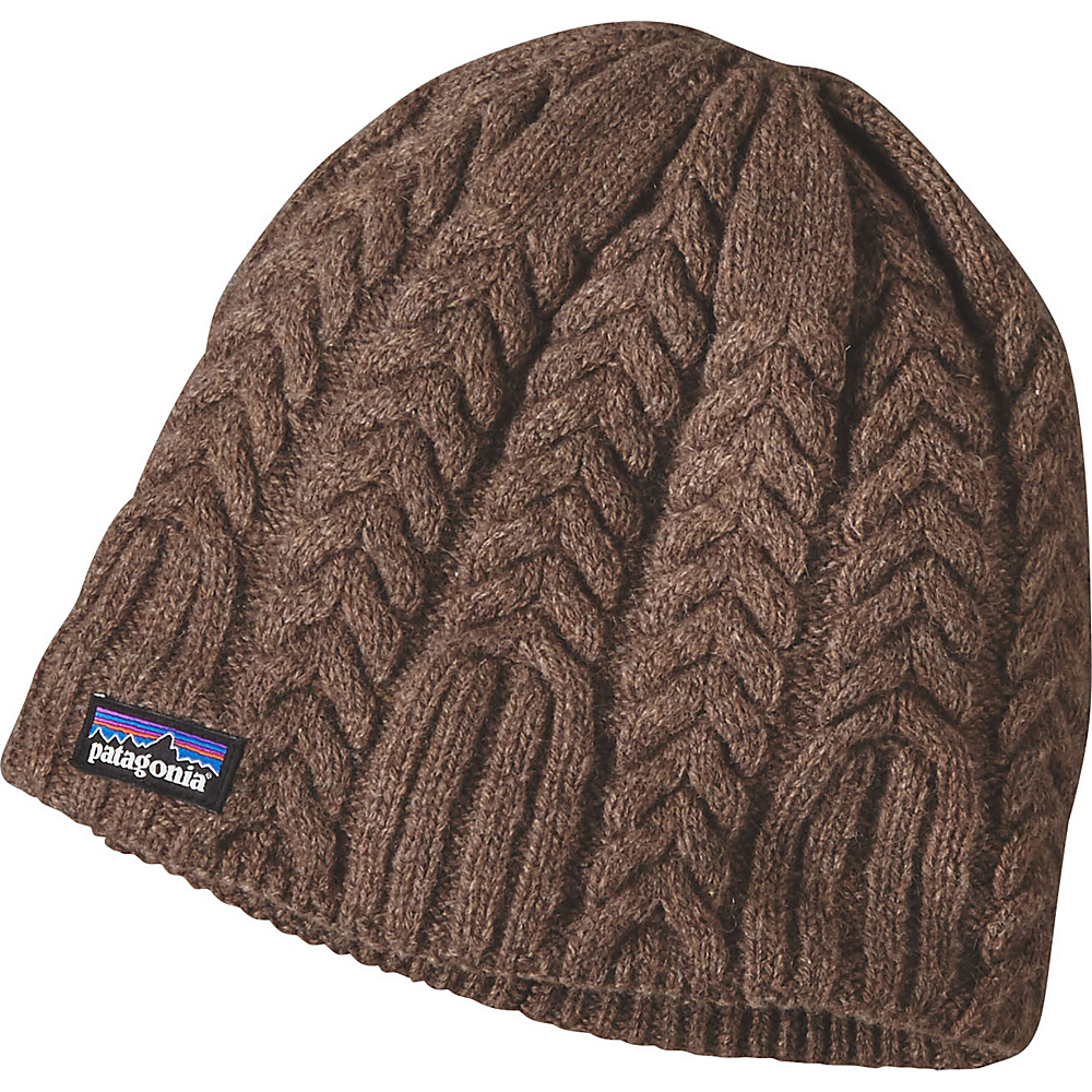 Patagonia Ws Cable Beanie One Size - Ash Tan - Patagonia Hats/Gloves/Scarves - Fashion Accessories, Hats/Gloves/Scarves