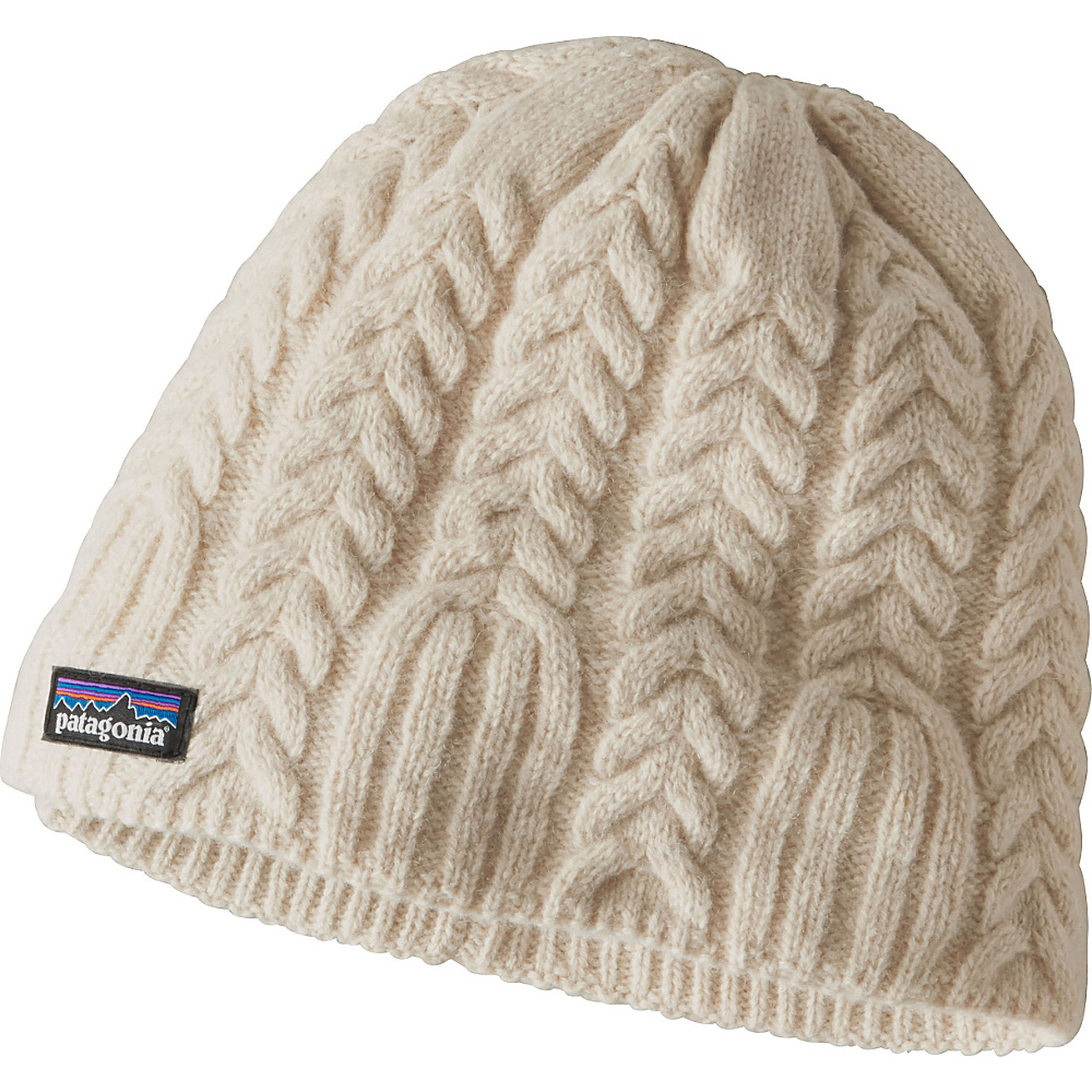 Patagonia Ws Cable Beanie One Size - Toasted White - Patagonia Hats/Gloves/Scarves - Fashion Accessories, Hats/Gloves/Scarves
