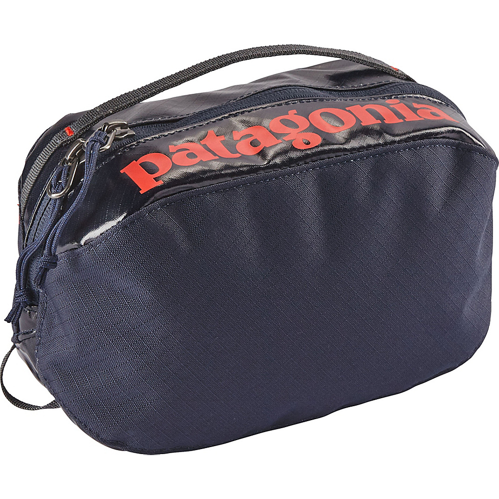 Patagonia Black Hole Cube - Small Navy Blue w/Paintbrush Red - Patagonia Toiletry Kits - Travel Accessories, Toiletry Kits