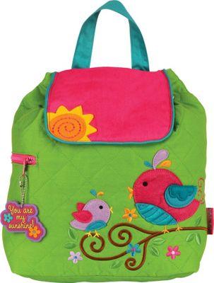 Stephen Joseph Quilted Backpack Bird - Stephen Joseph Everyday Backpacks