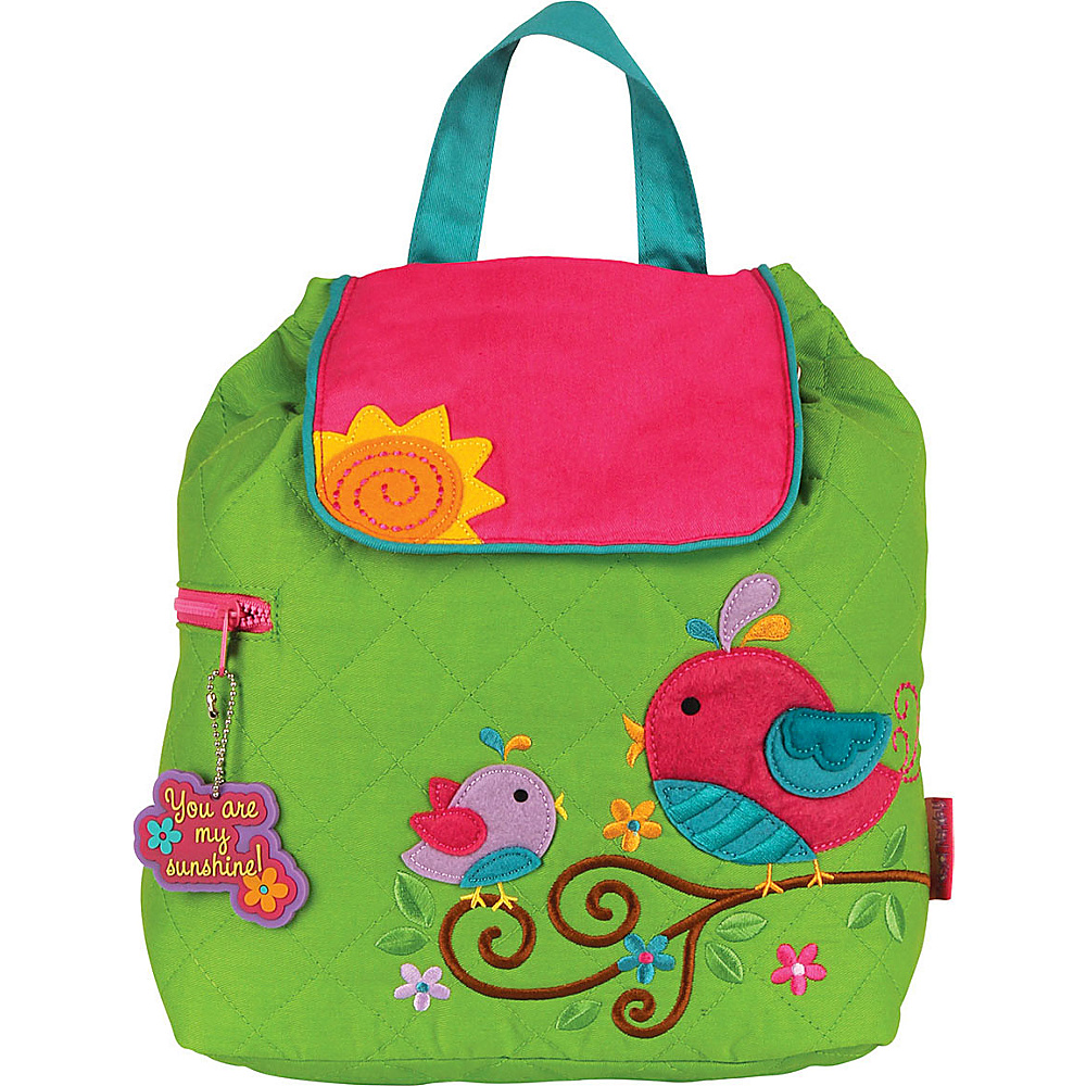 Stephen Joseph Quilted Backpack Bird Stephen Joseph Everyday Backpacks