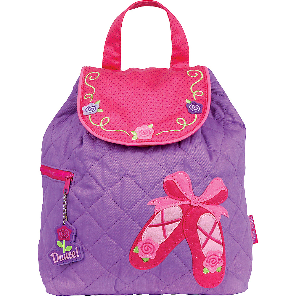 Stephen Joseph Quilted Backpack Ballet Shoes Stephen Joseph Everyday Backpacks