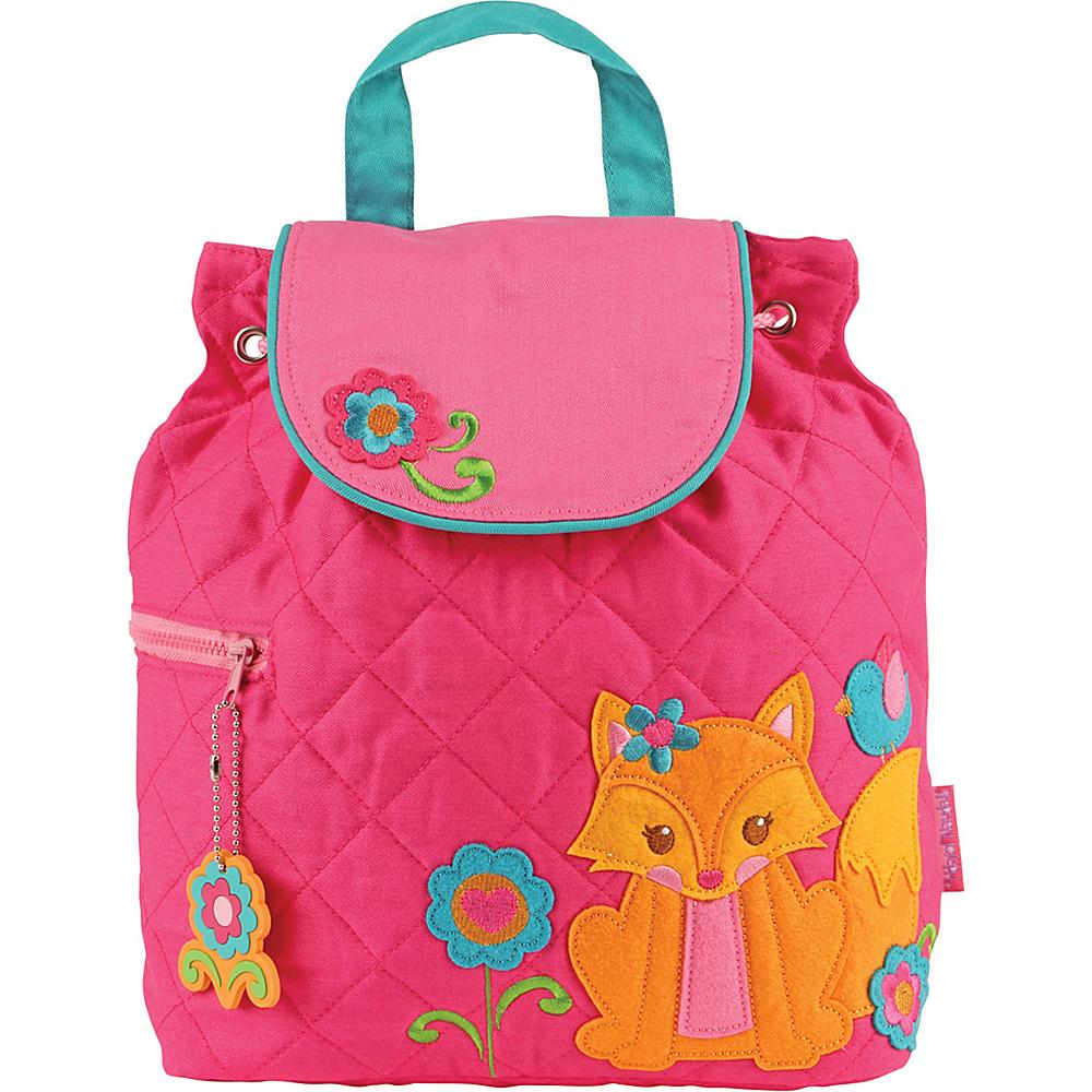 Stephen Joseph Quilted Backpack Girl Fox - Stephen Joseph School & Day Hiking Backpacks