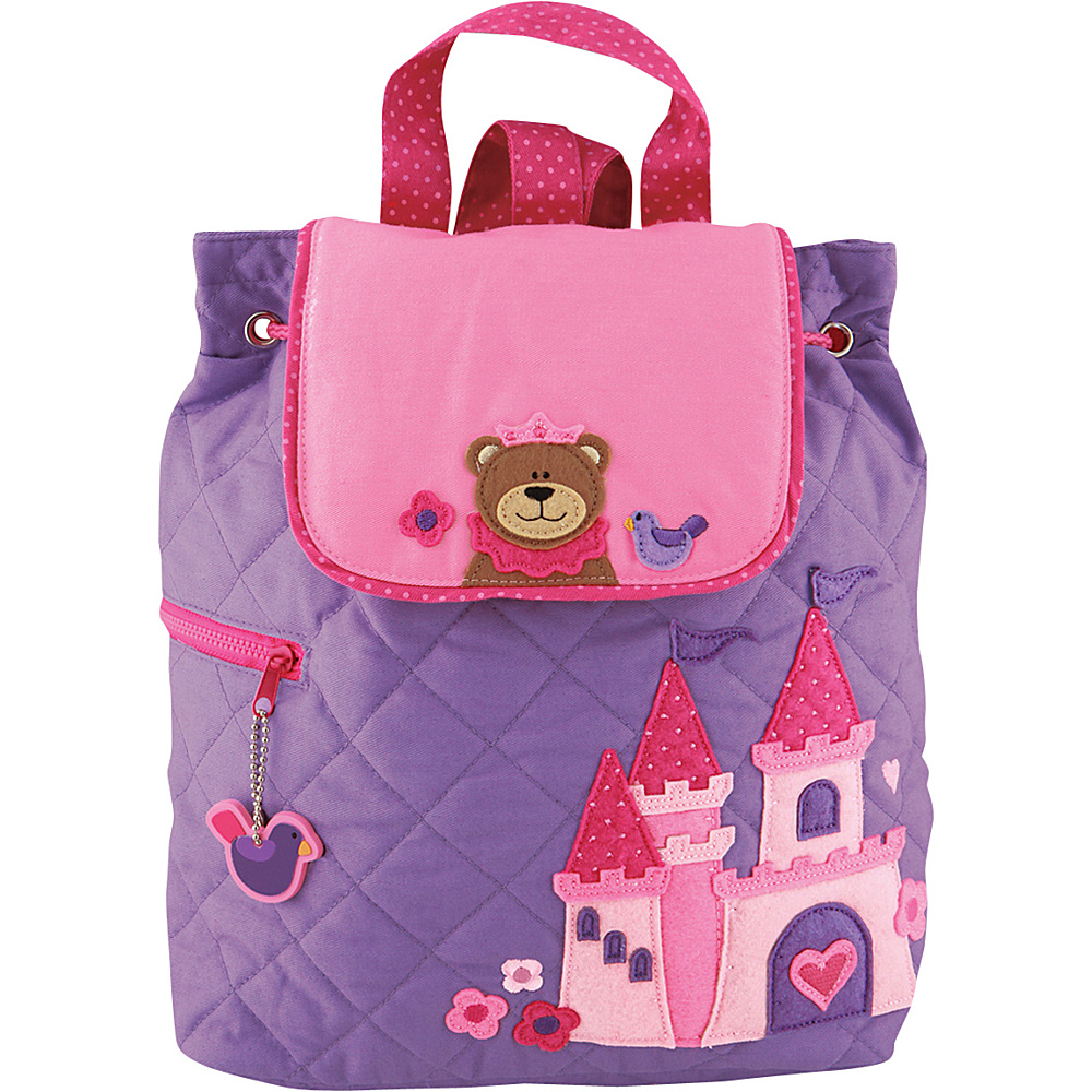 Stephen Joseph Quilted Backpack Princess Bear - Stephen Joseph Everyday Backpacks - Backpacks, Everyday Backpacks
