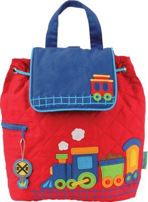 Stephen Joseph Quilted Backpack Train - Stephen Joseph Everyday Backpacks