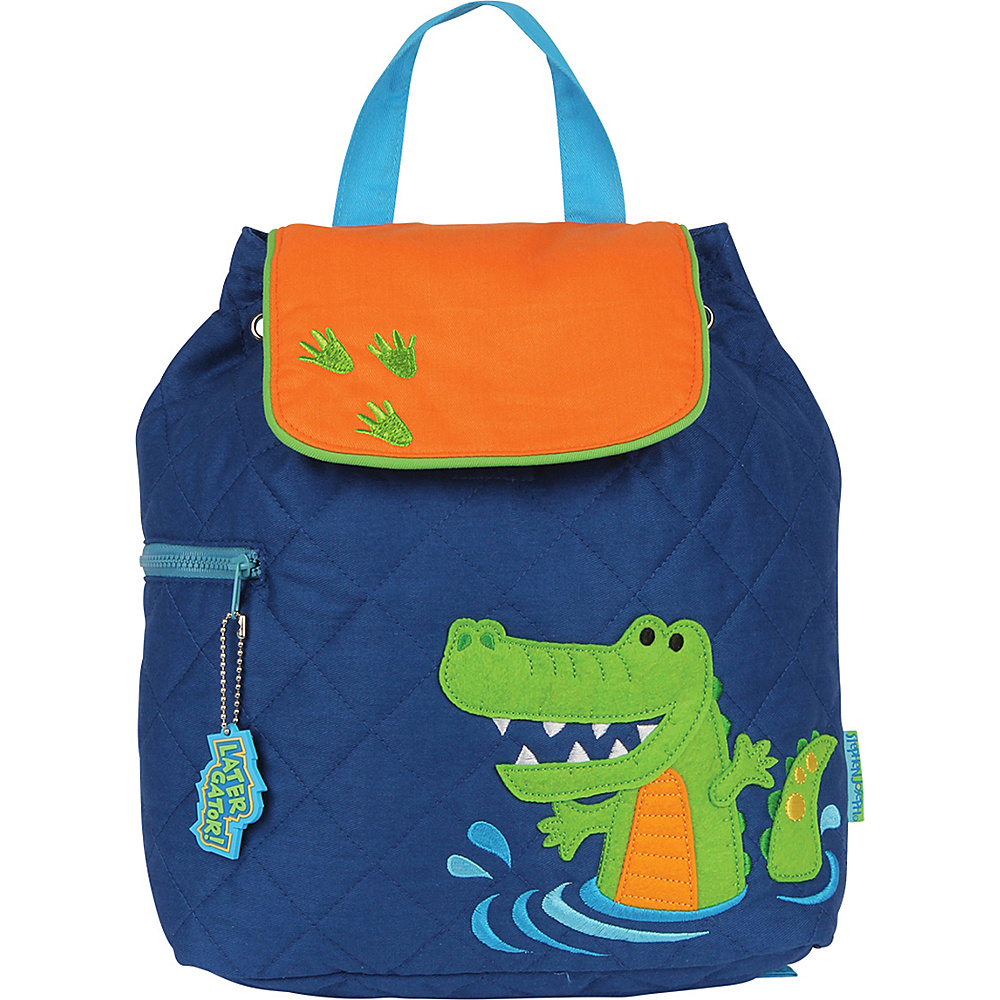 Stephen Joseph Quilted Backpack Alligator Stephen Joseph Everyday Backpacks