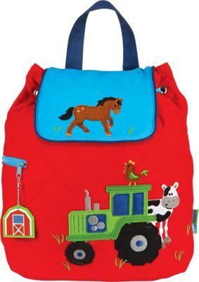 Stephen Joseph Quilted Backpack Farm - Boy - Stephen Joseph Everyday Backpacks