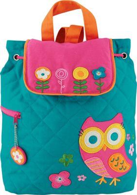 Stephen Joseph Quilted Backpack Owl - Stephen Joseph Everyday Backpacks