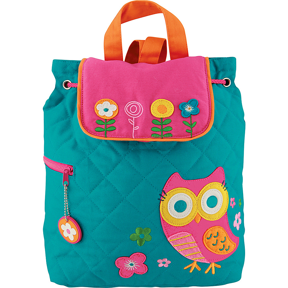 Stephen Joseph Quilted Backpack Owl Stephen Joseph Everyday Backpacks