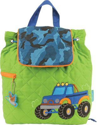 Stephen Joseph Quilted Backpack Truck - Stephen Joseph Everyday Backpacks