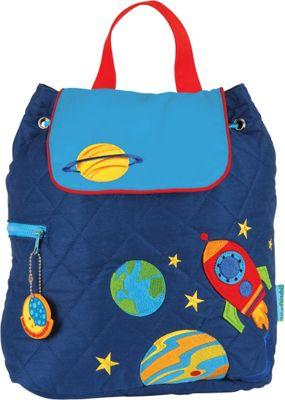 Stephen Joseph Quilted Backpack Space - Stephen Joseph Everyday Backpacks