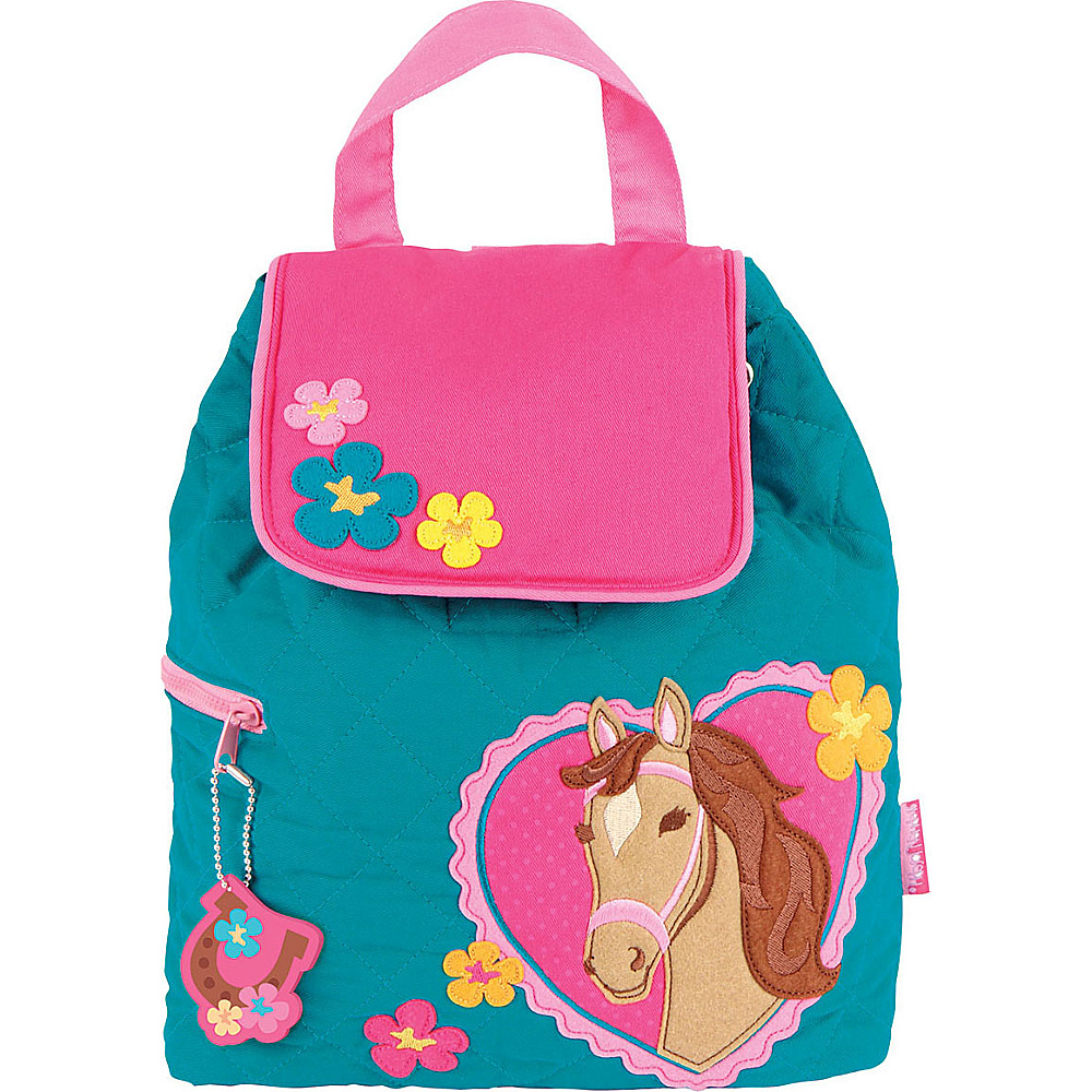 Stephen Joseph Quilted Backpack Horse - Girl - Stephen Joseph Everyday Backpacks - Backpacks, Everyday Backpacks