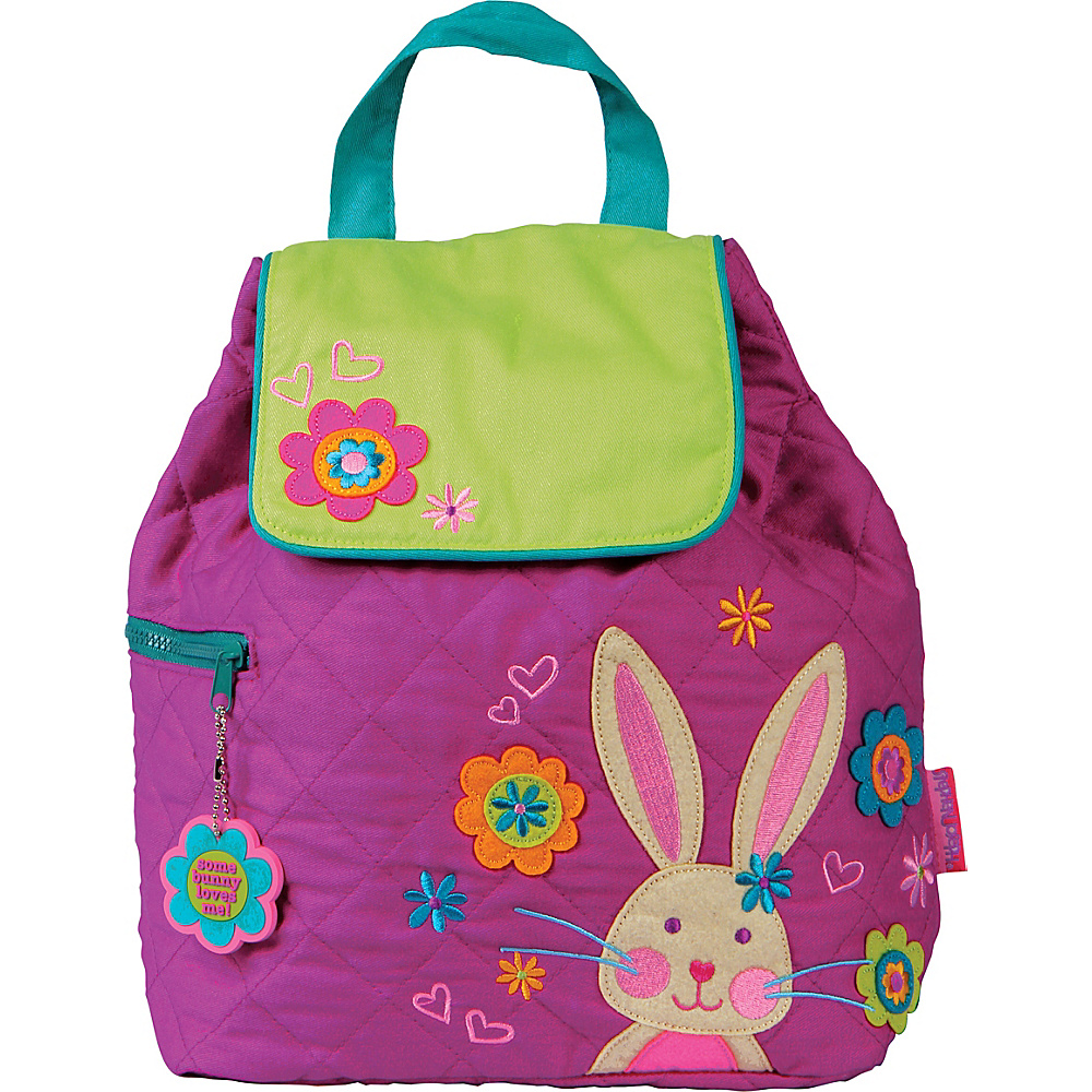 Stephen Joseph Quilted Backpack Bunny - Stephen Joseph Everyday Backpacks - Backpacks, Everyday Backpacks