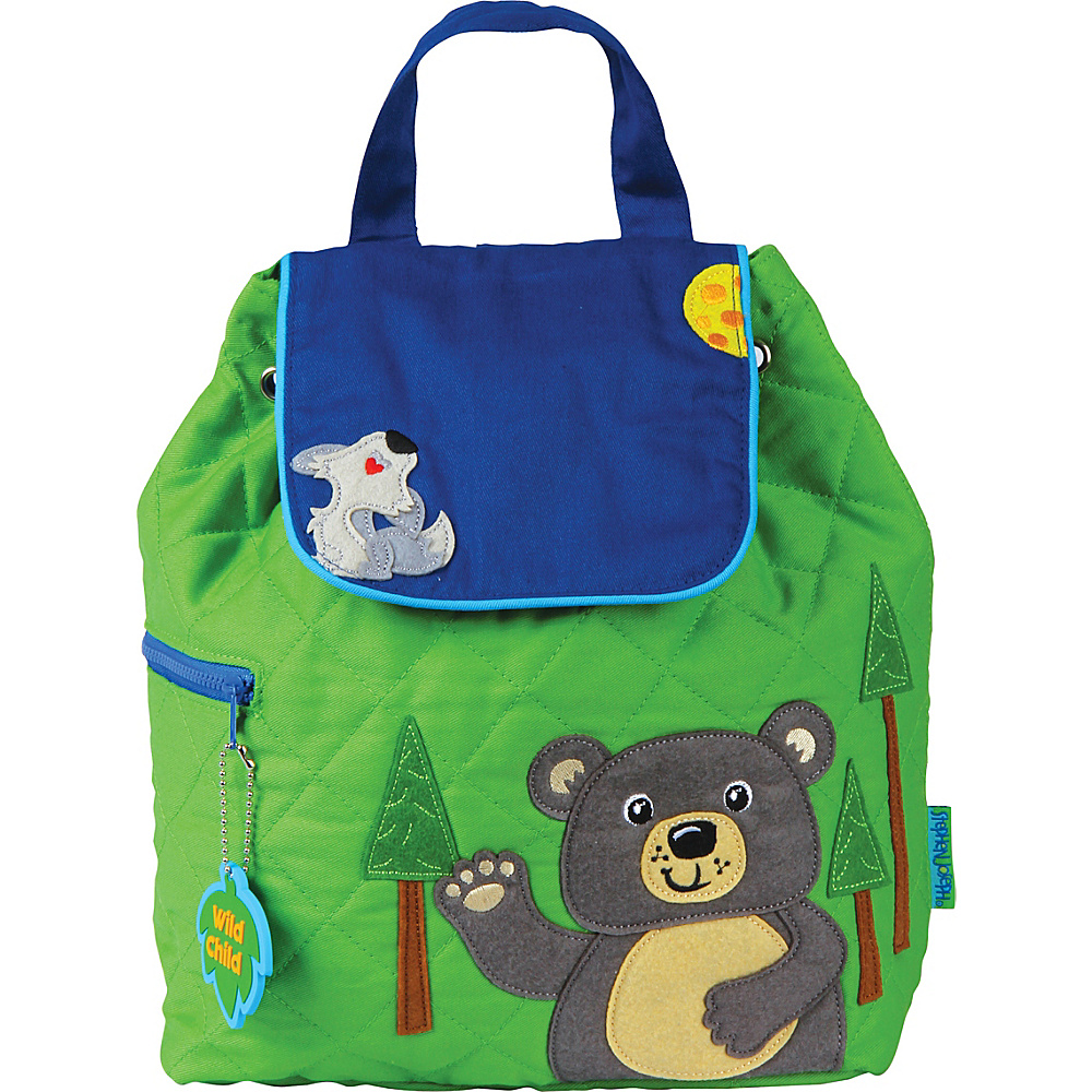 Stephen Joseph Quilted Backpack Bear - Stephen Joseph Everyday Backpacks - Backpacks, Everyday Backpacks