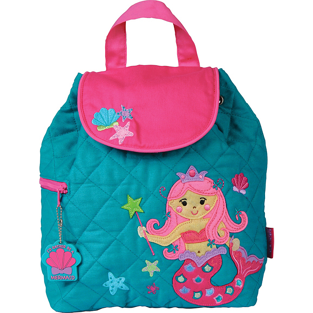 Stephen Joseph Quilted Backpack Mermaid - Stephen Joseph Everyday Backpacks - Backpacks, Everyday Backpacks