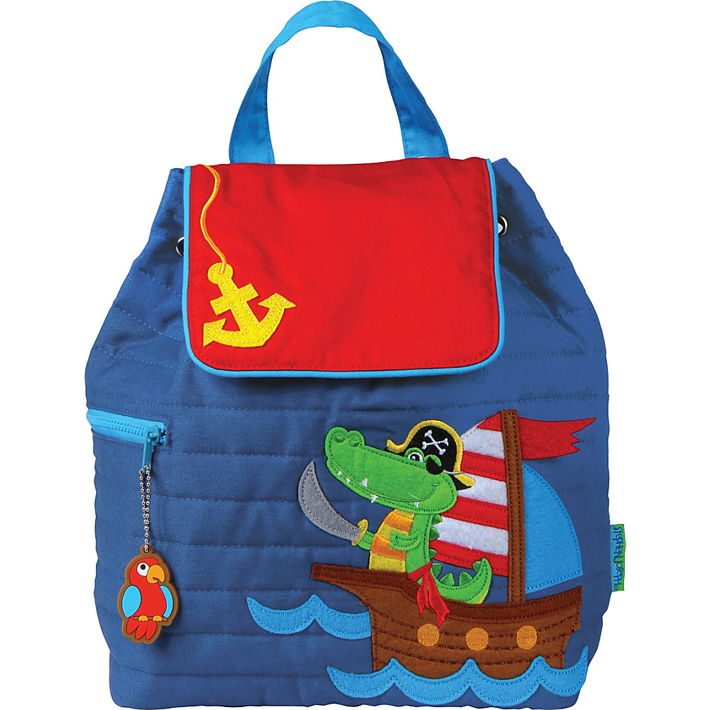 Stephen Joseph Quilted Backpack Alligator Pirate - Stephen Joseph Everyday Backpacks - Backpacks, Everyday Backpacks
