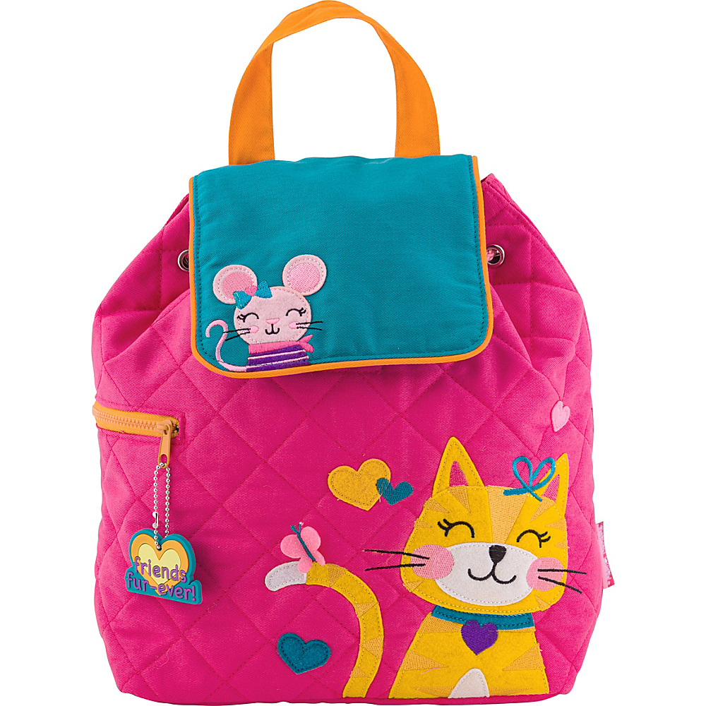 Stephen Joseph Quilted Backpack Cat - Stephen Joseph Everyday Backpacks - Backpacks, Everyday Backpacks