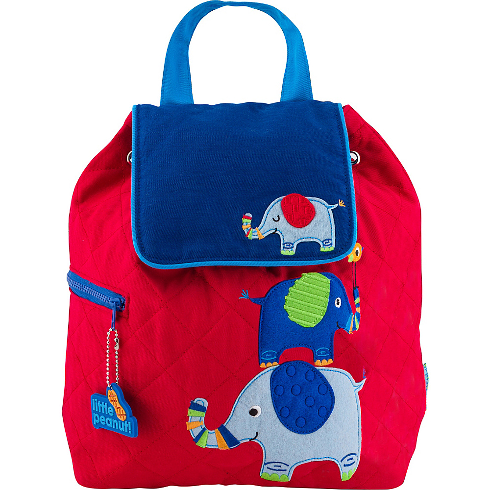 Stephen Joseph Quilted Backpack Elephant - Stephen Joseph Everyday Backpacks - Backpacks, Everyday Backpacks
