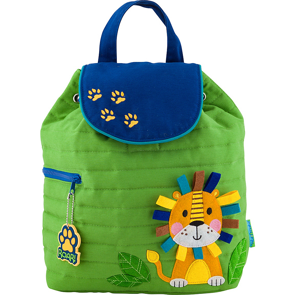 Stephen Joseph Quilted Backpack Lion - Stephen Joseph Everyday Backpacks - Backpacks, Everyday Backpacks