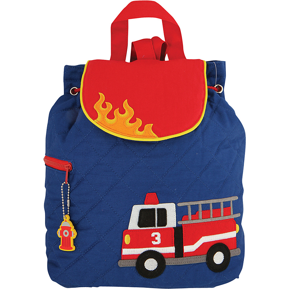 Stephen Joseph Quilted Backpack Firetruck - Stephen Joseph Everyday Backpacks - Backpacks, Everyday Backpacks