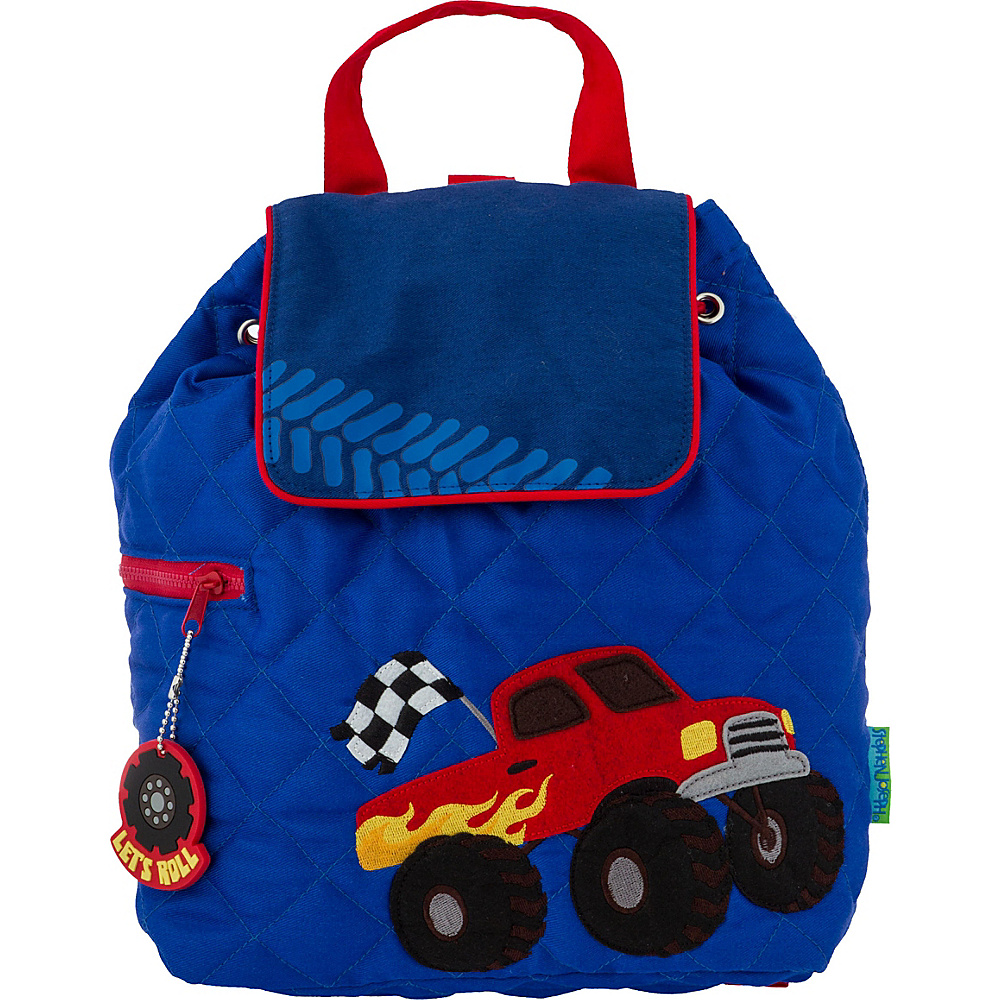 Stephen Joseph Quilted Backpack Truck 2 - Stephen Joseph Everyday Backpacks - Backpacks, Everyday Backpacks