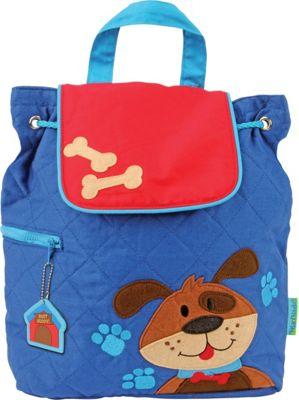 Stephen Joseph Quilted Backpack Dog - Stephen Joseph Everyday Backpacks