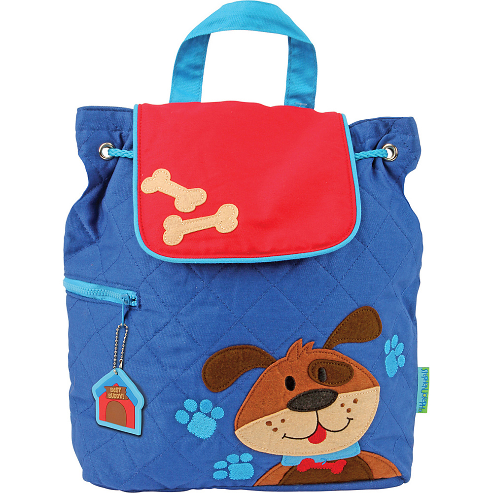 Stephen Joseph Quilted Backpack Dog Stephen Joseph Everyday Backpacks