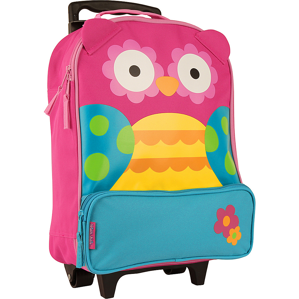Stephen Joseph Kids ELP Rolling Luggage Owl Stephen Joseph Softside Carry On