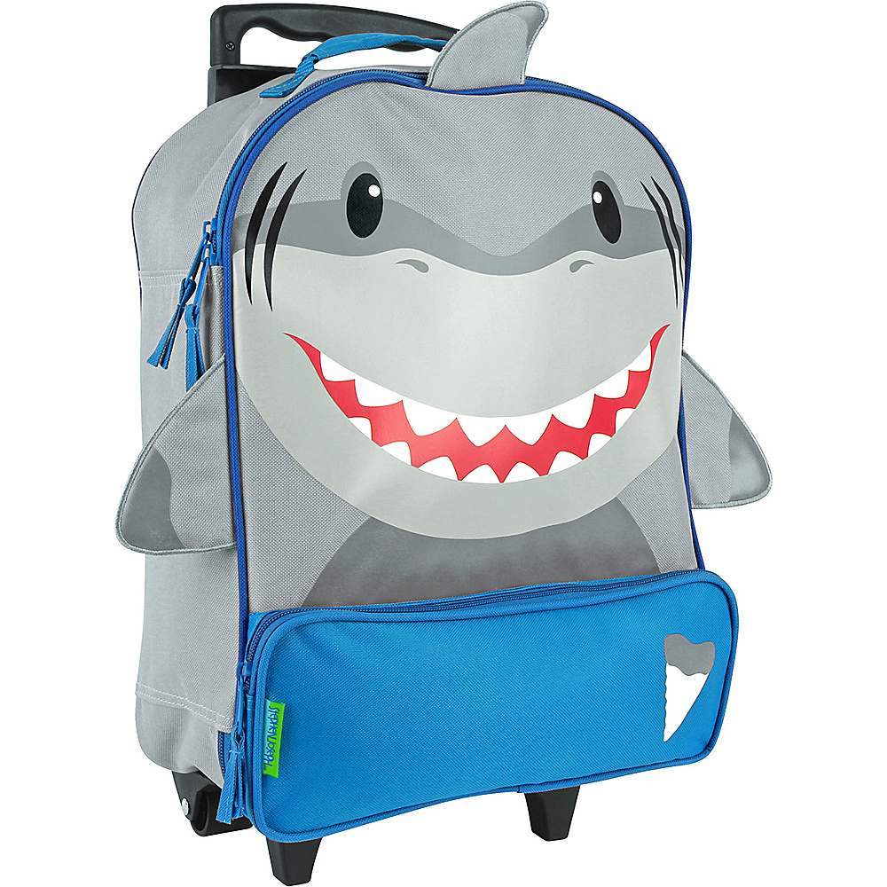 Stephen Joseph Kids ELP Rolling Luggage Shark Stephen Joseph Softside Carry On