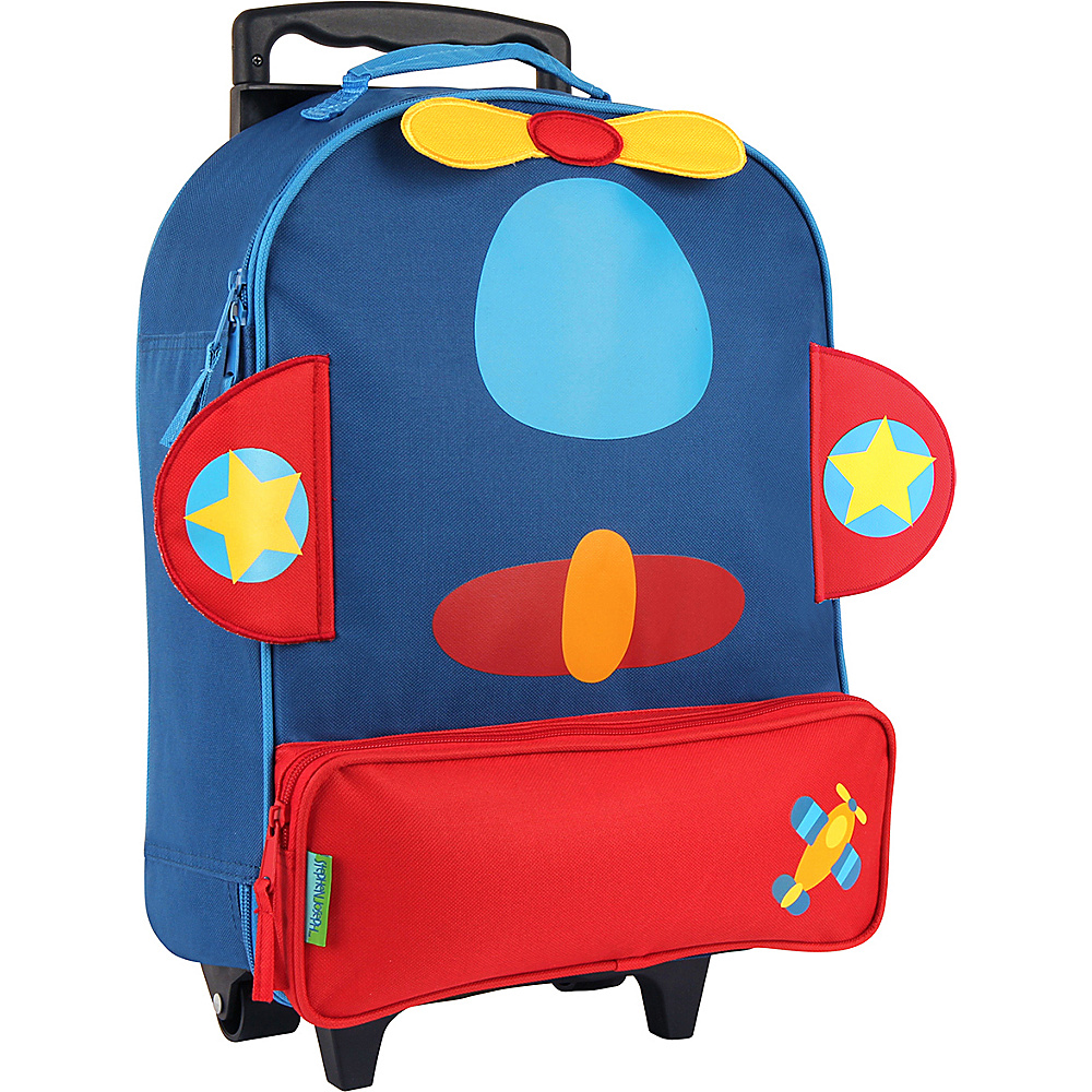 Stephen Joseph Kids ELP Rolling Luggage Airplane Stephen Joseph Softside Carry On