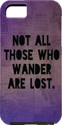 Image of DENY Designs Leah Flores iPhone 5/5s Case Deep Purple - Those Who Wander - DENY Designs Electronic Cases