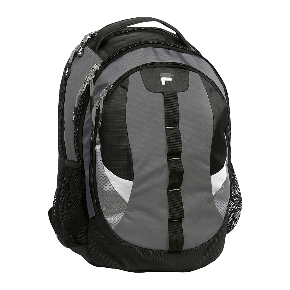 Fila Raven Tablet and Laptop School Backpack Grey Fila Everyday Backpacks