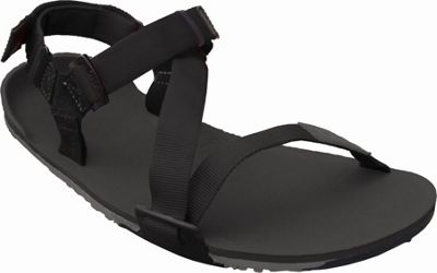 Image of Xero Shoes Umara Z-Trail Mens Ultimate Trail-Friendly Sandal 11 - Coal Black / Charcoal / Black - Xero Shoes Men's Footwear