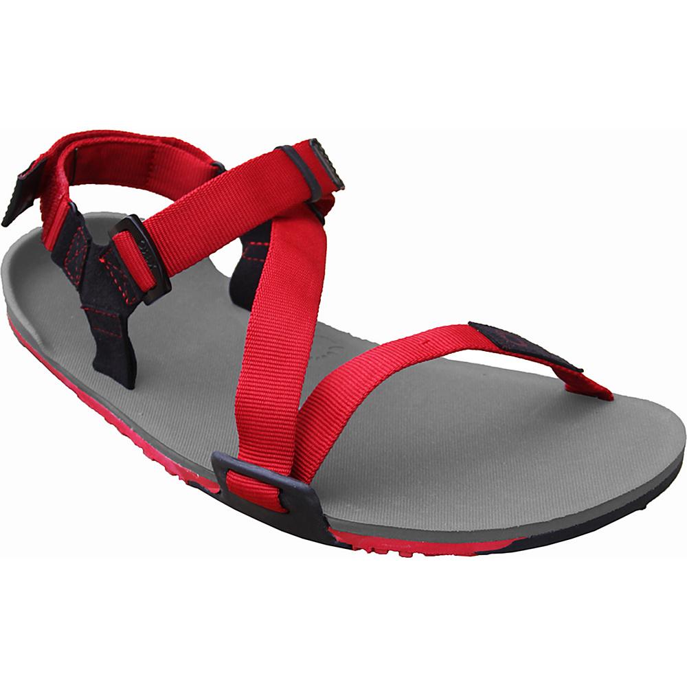 Xero Shoes Umara Z Trail Mens Ultimate Trail Friendly Sandal 8 Coal Black Charcoal Red Pepper Xero Shoes Men s Footwear