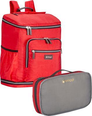 biaggi Zipsak Backsak Red - biaggi Business & Laptop Backpacks