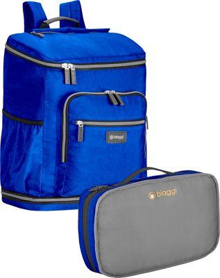 biaggi Zipsak Backsak Cobalt Blue - biaggi Business & Laptop Backpacks
