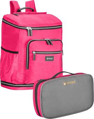 biaggi Zipsak Backsak Pink - biaggi Business & Laptop Backpacks