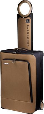 Barracuda Collapsible Carry-On with Locator Tan - Barracuda Softside Carry-On