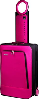 Barracuda Collapsible Carry-On with Locator Pink - Barracuda Softside Carry-On