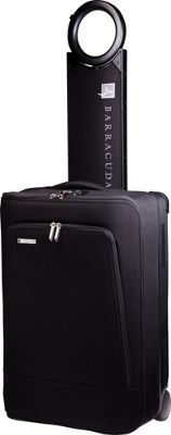 Barracuda Collapsible Carry-On with Locator Black - Barracuda Softside Carry-On