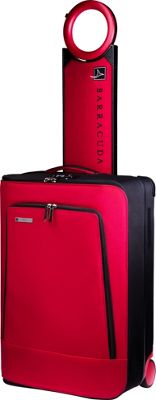 Barracuda Collapsible Carry-On with Locator Red - Barracuda Softside Carry-On