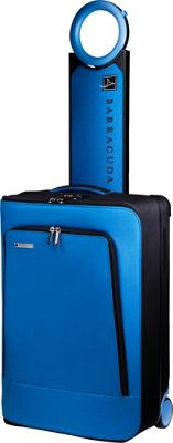Barracuda Collapsible Carry-On with Locator Blue - Barracuda Softside Carry-On