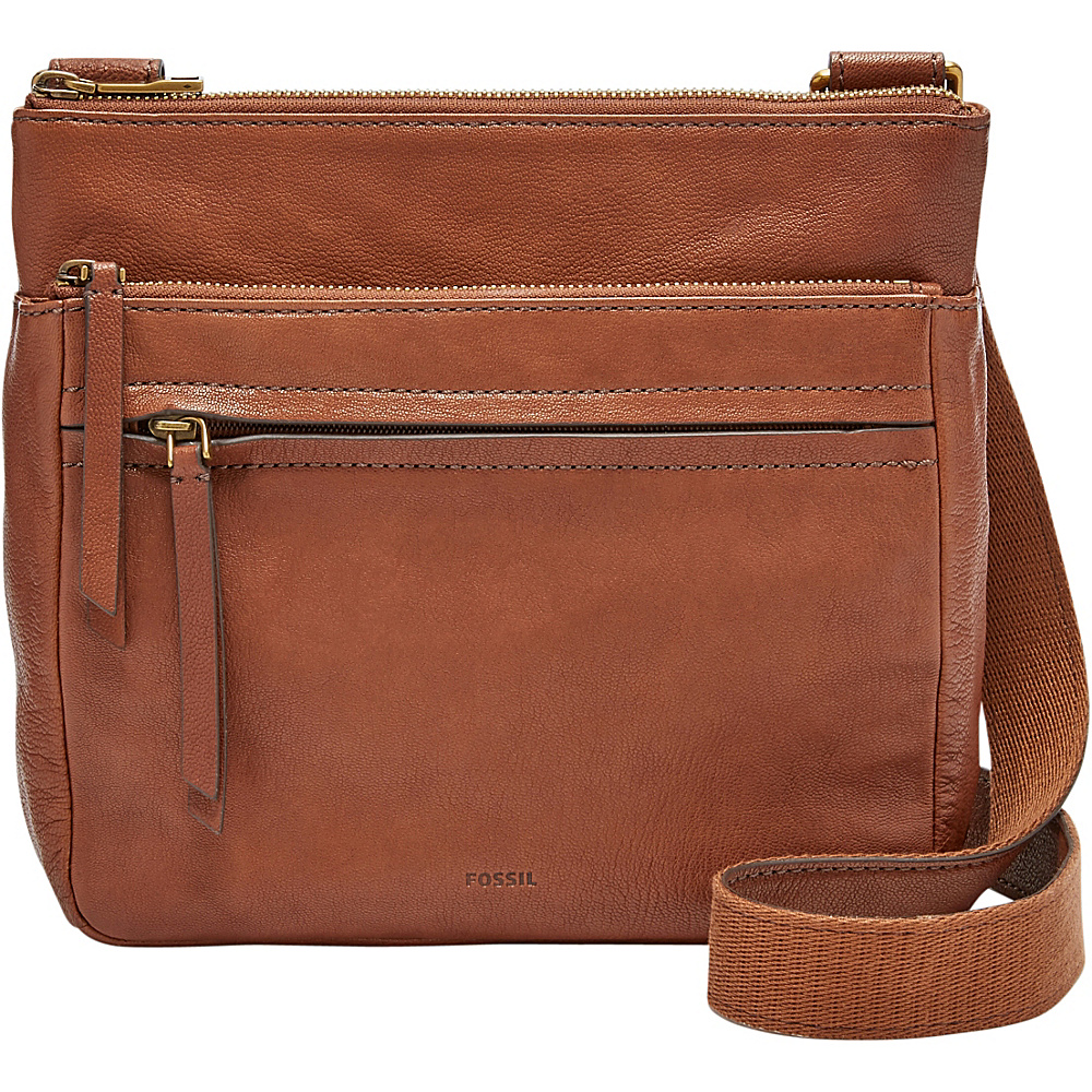 Fossil Corey Crossbody Brown - Fossil Leather Handbags - Handbags, Leather Handbags
