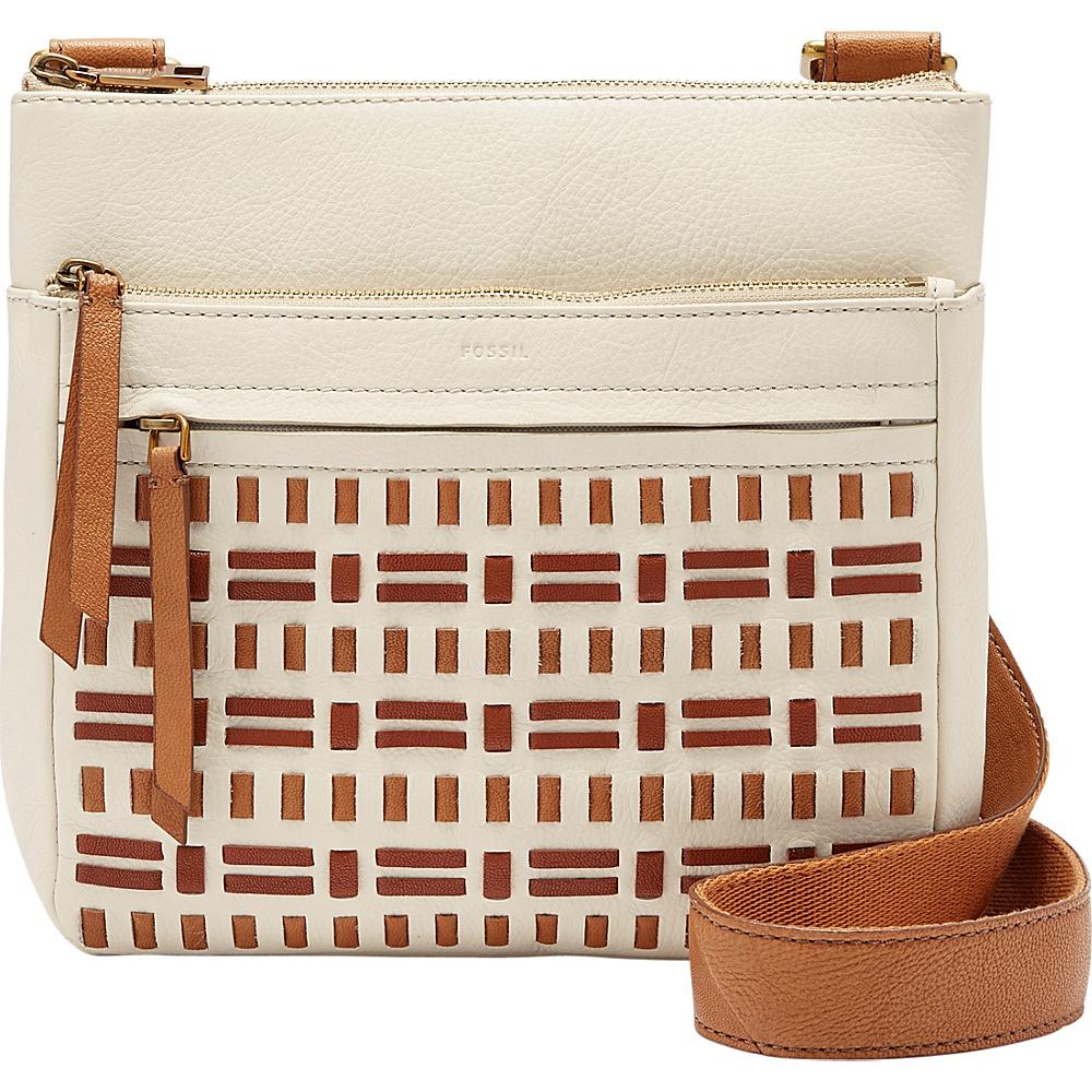 Fossil Corey Crossbody Vanilla - Fossil Leather Handbags - Handbags, Leather Handbags