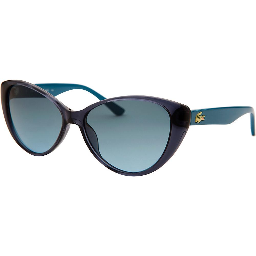 Lacoste Eyewear Cat Eye Kids Sunglasses Blue Translucent - Lacoste Eyewear Sunglasses