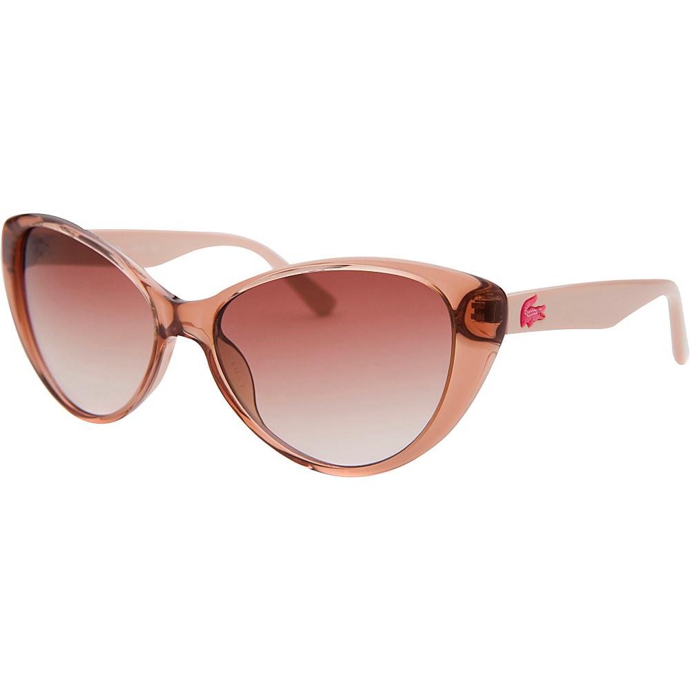 Lacoste Eyewear Cat Eye Kids Sunglasses Pink Translucent - Lacoste Eyewear Sunglasses