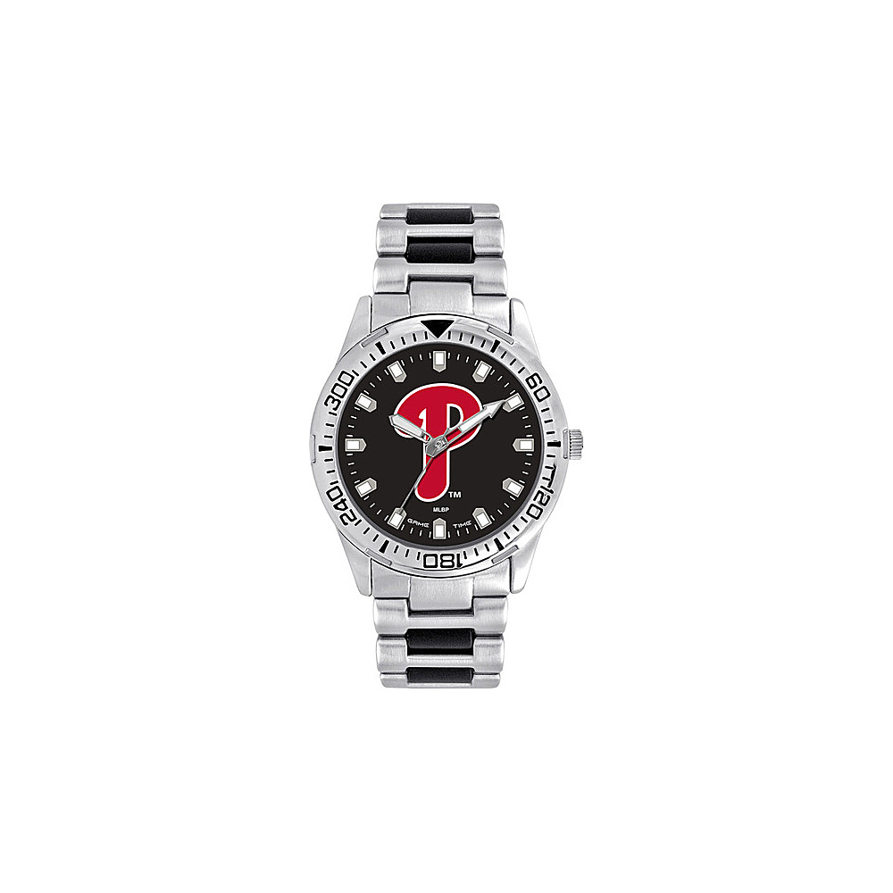 Game Time Mens Heavy Hitter-MLB Watch Philadelphia Phillies - Game Time Watches - Fashion Accessories, Watches