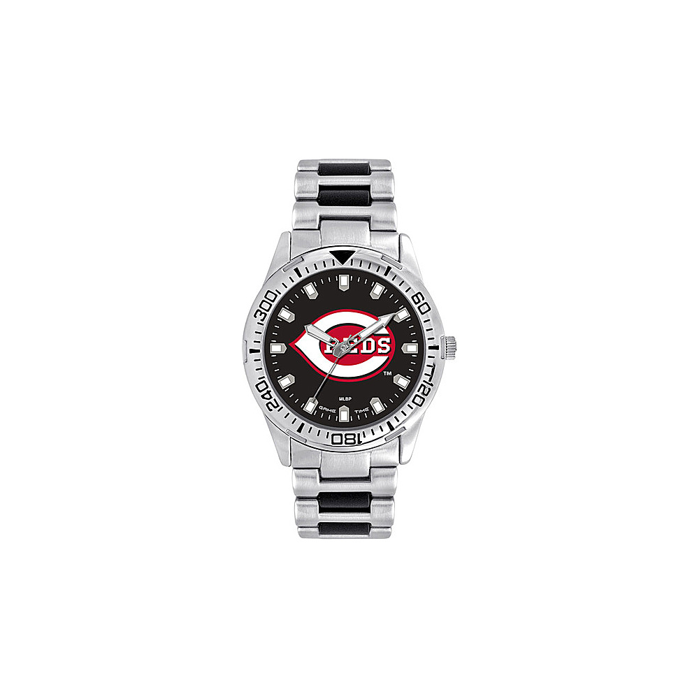 Game Time Mens Heavy Hitter-MLB Watch Cincinnati Reds - Game Time Watches - Fashion Accessories, Watches
