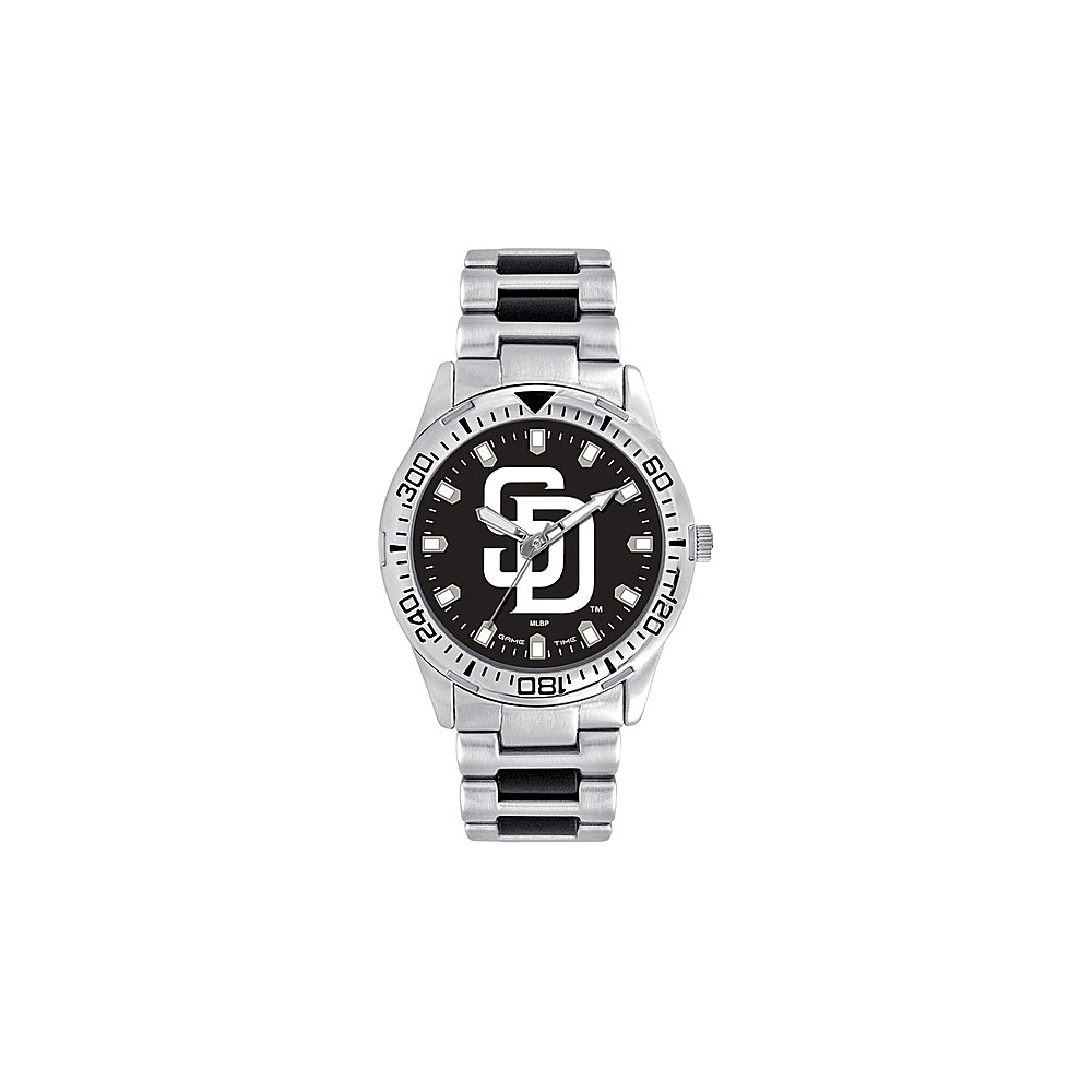 Game Time Mens Heavy Hitter-MLB Watch San Diego Padres - Game Time Watches - Fashion Accessories, Watches